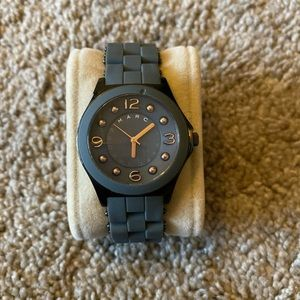 Marc by Marc Jacobs Grey & Rose Gold Watch